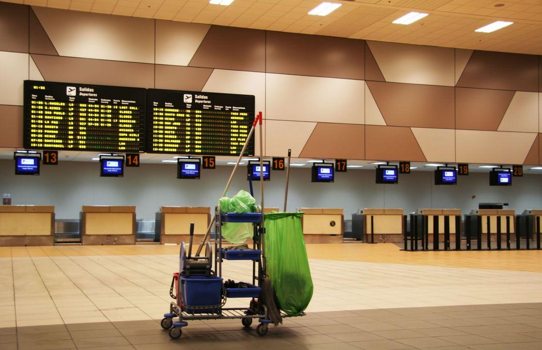 cleaning service terminal bandara terbaik